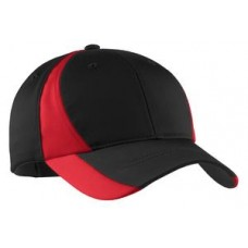 Dry Zone  Nylon Colorblock Cap.